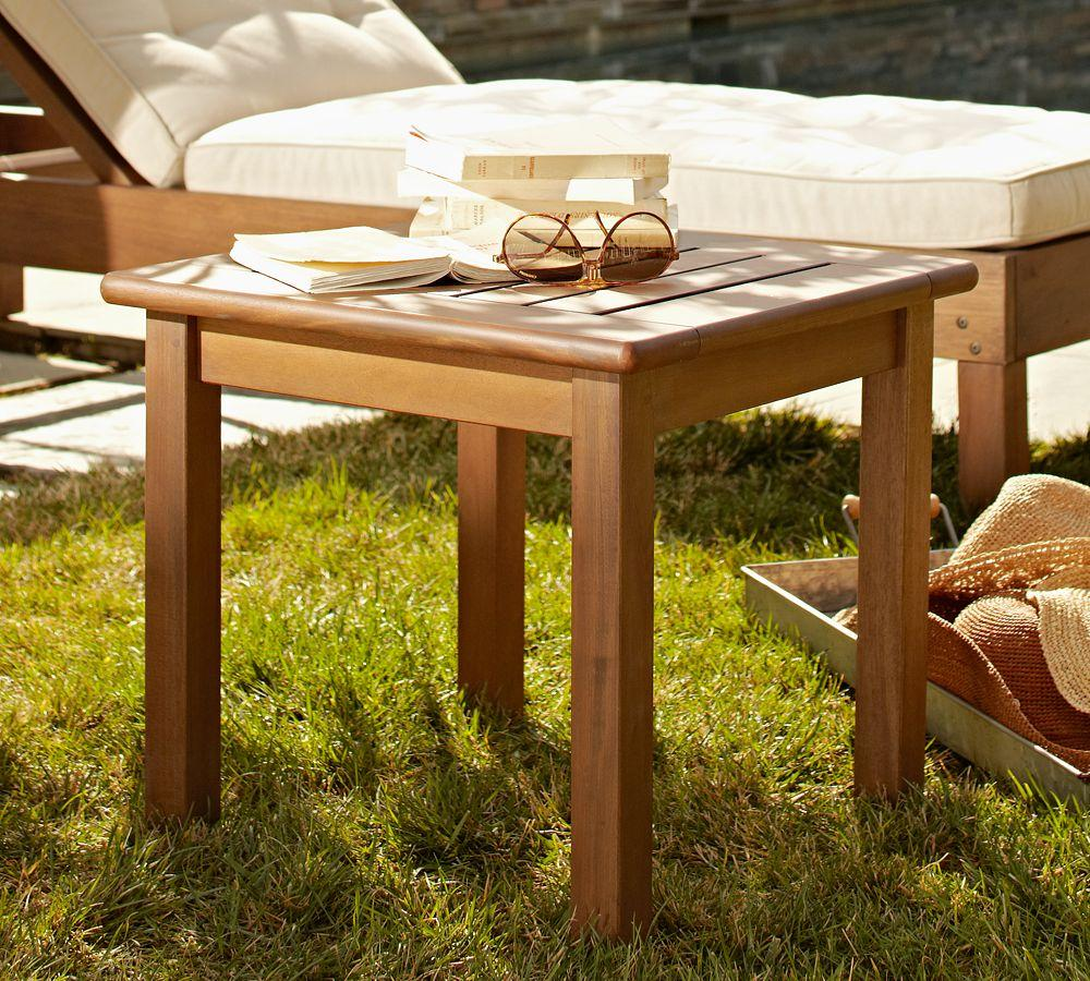 Chatham Square Side Table, Honey