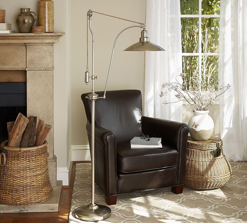Glendale Pulley Task Floor Lamp