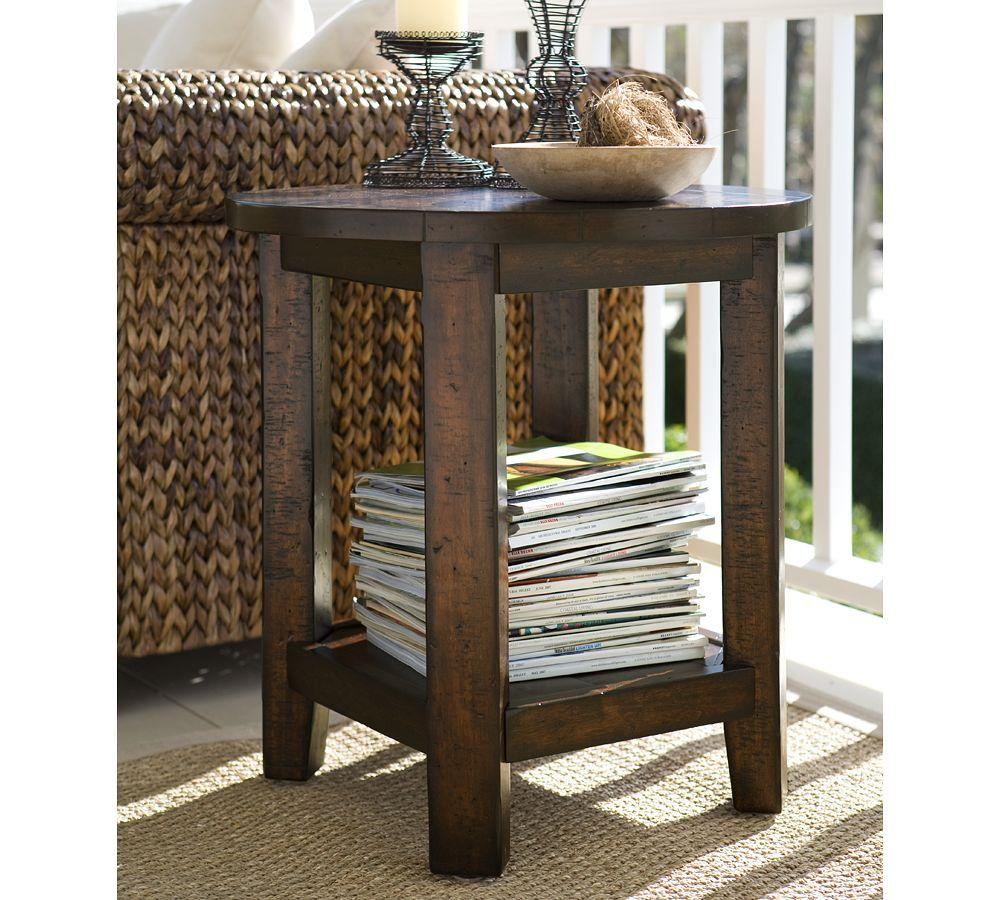 Benchwright Round Side Table