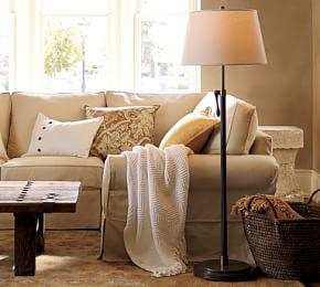 Sutter Adjustable Lever Floor Lamp Base