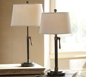 Sutter Adjustable Lamp Base