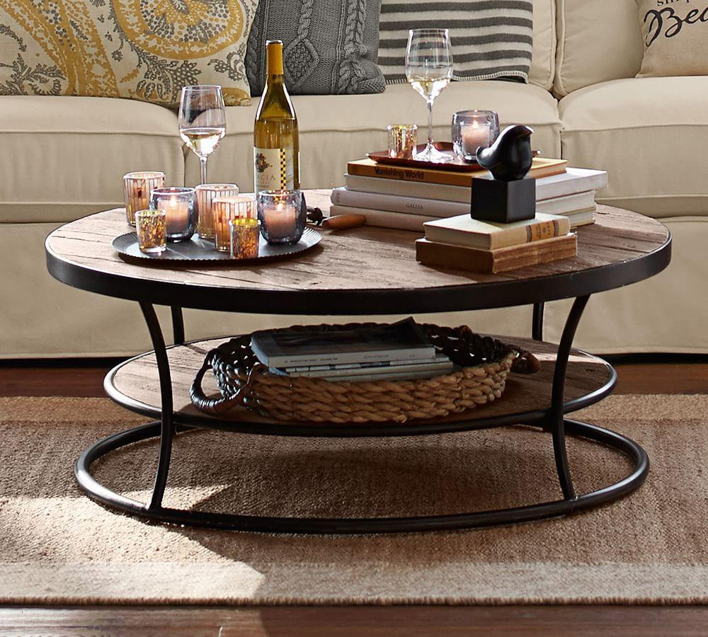 Bartlett Reclaimed Wood Coffee Table Pottery Barn CA - Pottery barn bartlett coffee table
