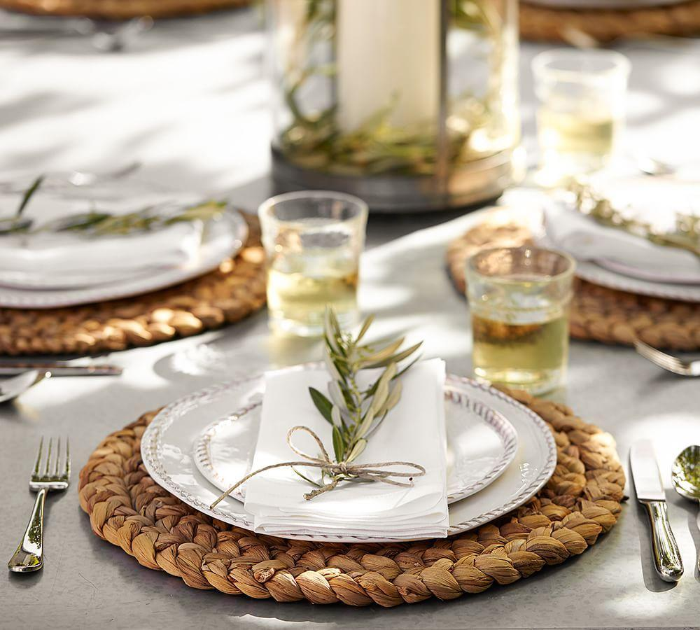 Water Hyacinth Placemat Set Of 4 Pottery Barn Ca