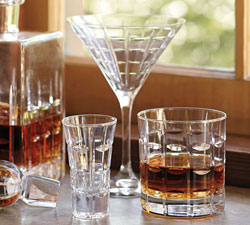 Library Glassware, Set of 6