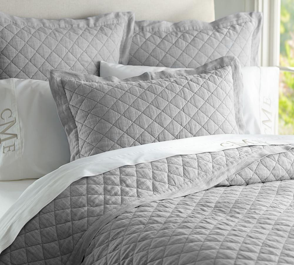 pin barns my mackenna coverlet quilt shams as pickstich barn with pottery curtains boudoir pb linens from well are duvet taupe