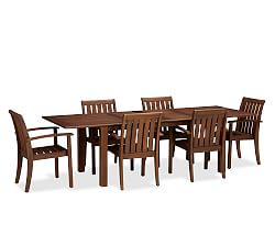 Chatham Rectangular Extending Dining Table & Chair Set - Honey