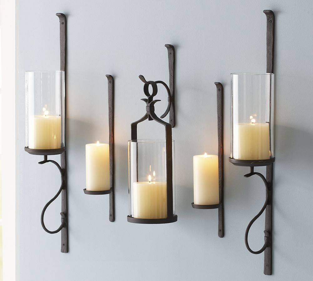 Artisanal Wall-Mount Candle Holder   Pottery Barn CA