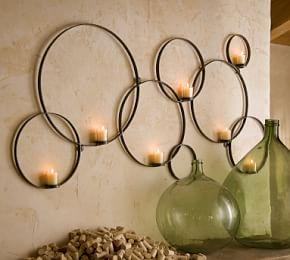 Circles Wall-Mount Votive Holder