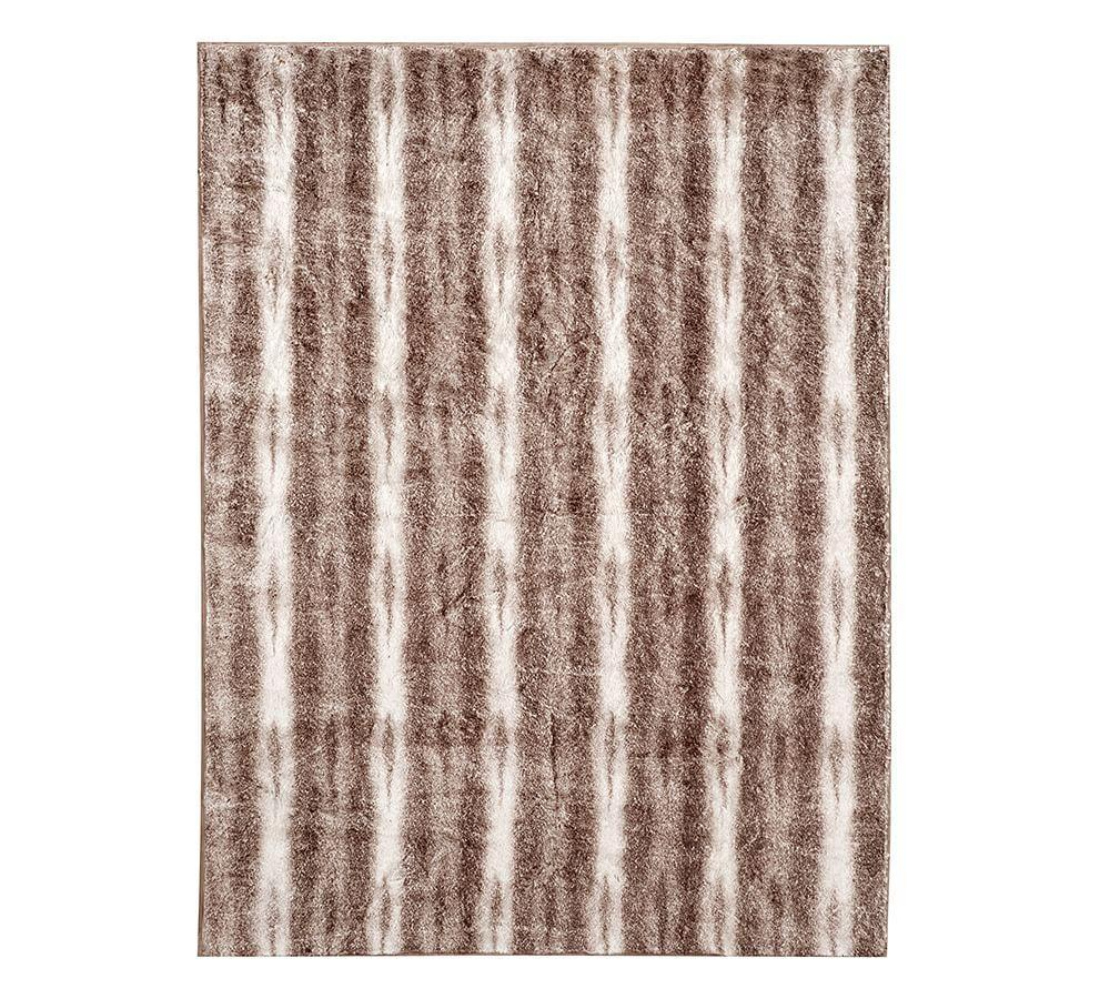 Faux Fur Throw - Caramel Ombre