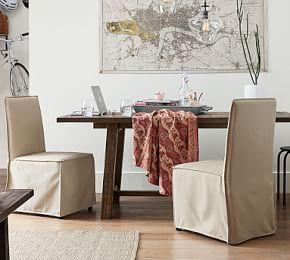 Carissa Slipcovered Dining Chair