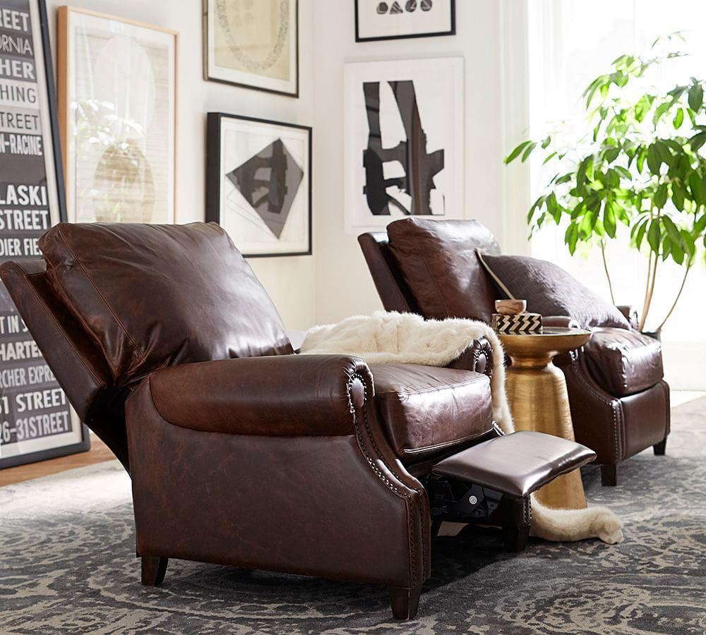 James Leather Recliner