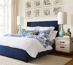 Derry Matelase Cotton Duvet Cover & Shams