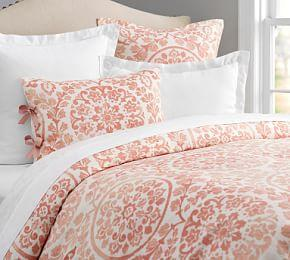 Ana Medallion Duvet Cover & Sham