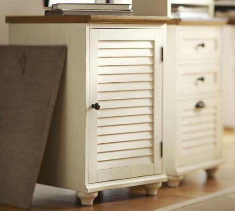 Whitney Cabinet, Almond White