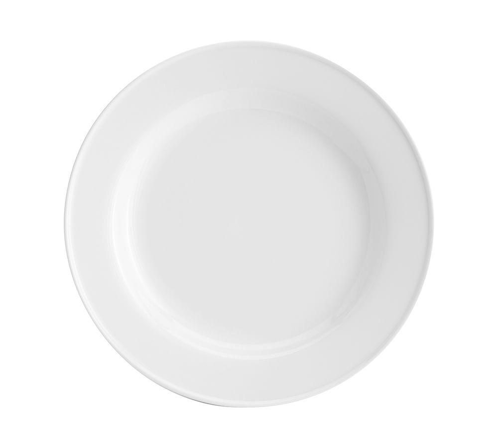 Great White Traditional Porcelain Salad Plate