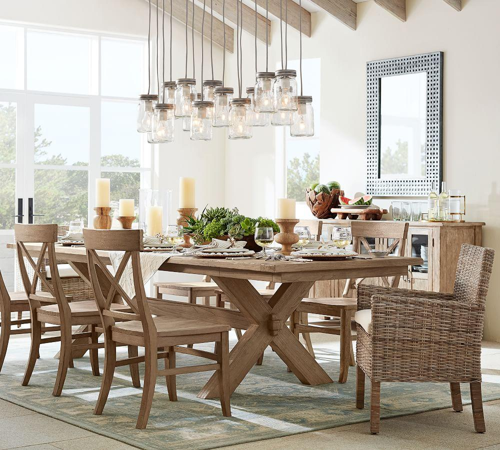 Dining Table Rollins Dining Table: Toscana Extending Dining Table