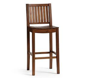 Abbott Bar Stool, Brown