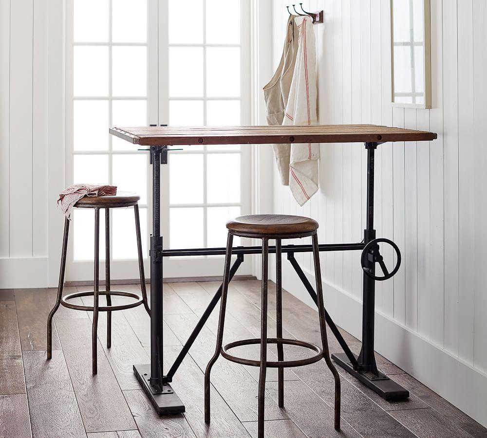 Pittsburgh Adjustable Height Bar Stool Pottery Barn Ca