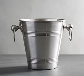 Antique Silver Ice Bucket