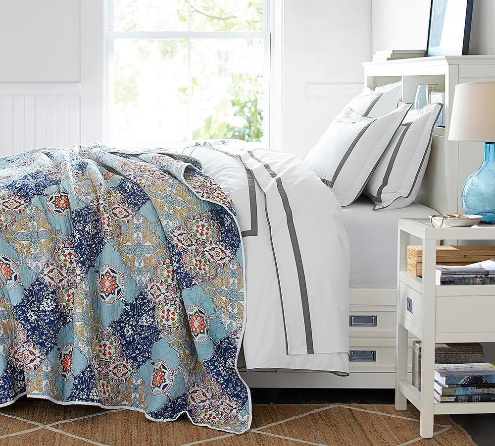Bedding Quilts Pottery Barn: Chelsea Wholecloth Quilt & Sham