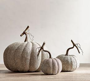 German Glitter Pumpkins