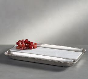 Antique Silver Cheese Tray