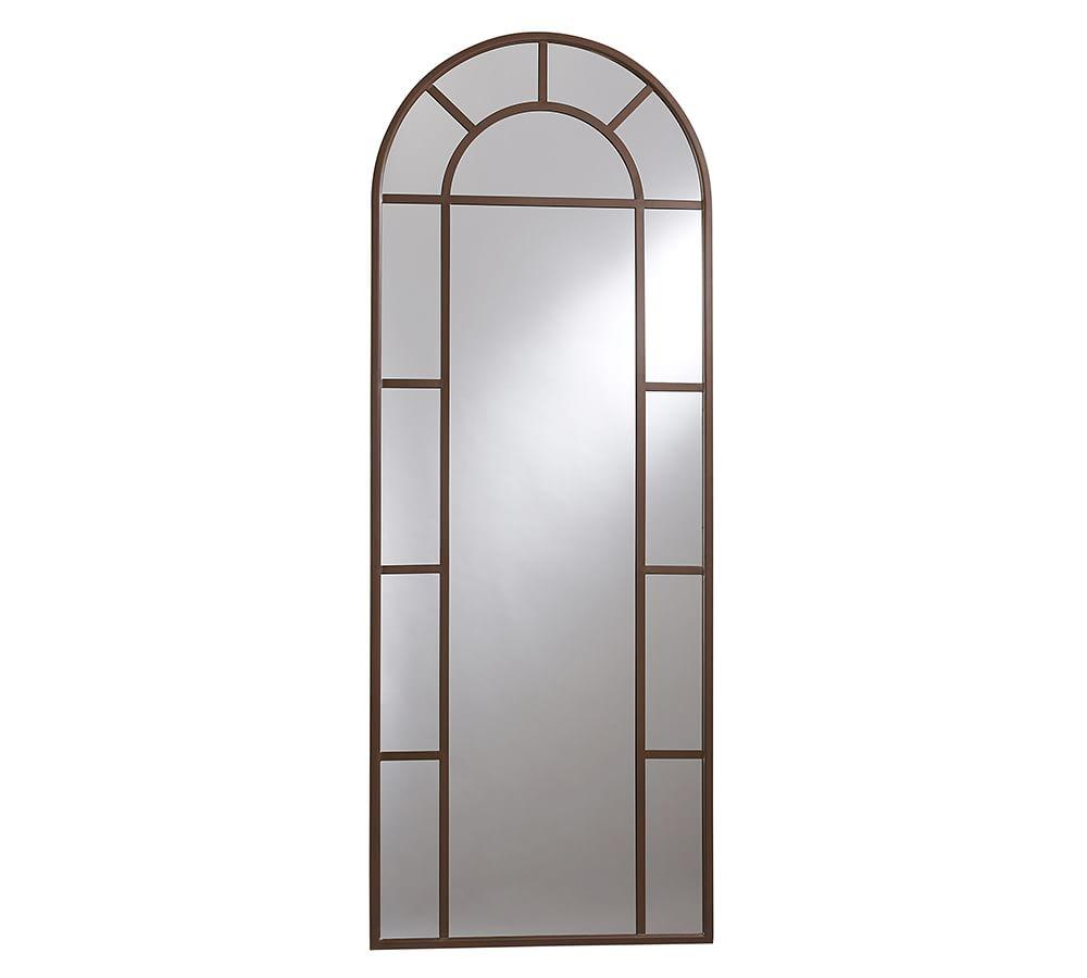 Distiller Metal Arch Floor Mirror
