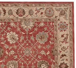 Madeline Persian Rug - Red Multi