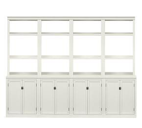 Logan Bookcase Wall Suite
