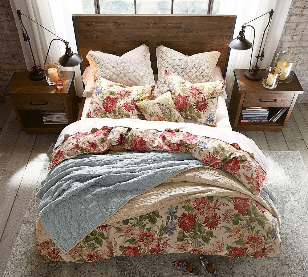 Big Daddy's Antiques Reclaimed Wood Storage Bed