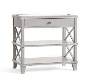 Clara Lattice Wide Nightstand