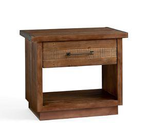 Big Daddy's Antiques Wood Bedside Table