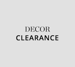Decor Clearance
