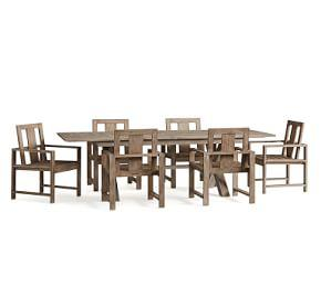 Indio Dining Table &  Arm Chair Dining Set