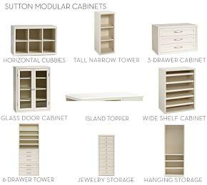 Build Your Own - Sutton Modular Cabinets