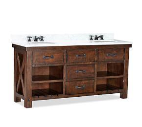 Benchwright Double Sink Console