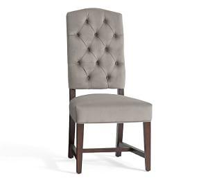 Ashton Tufted Dining Chair - Quick Ship