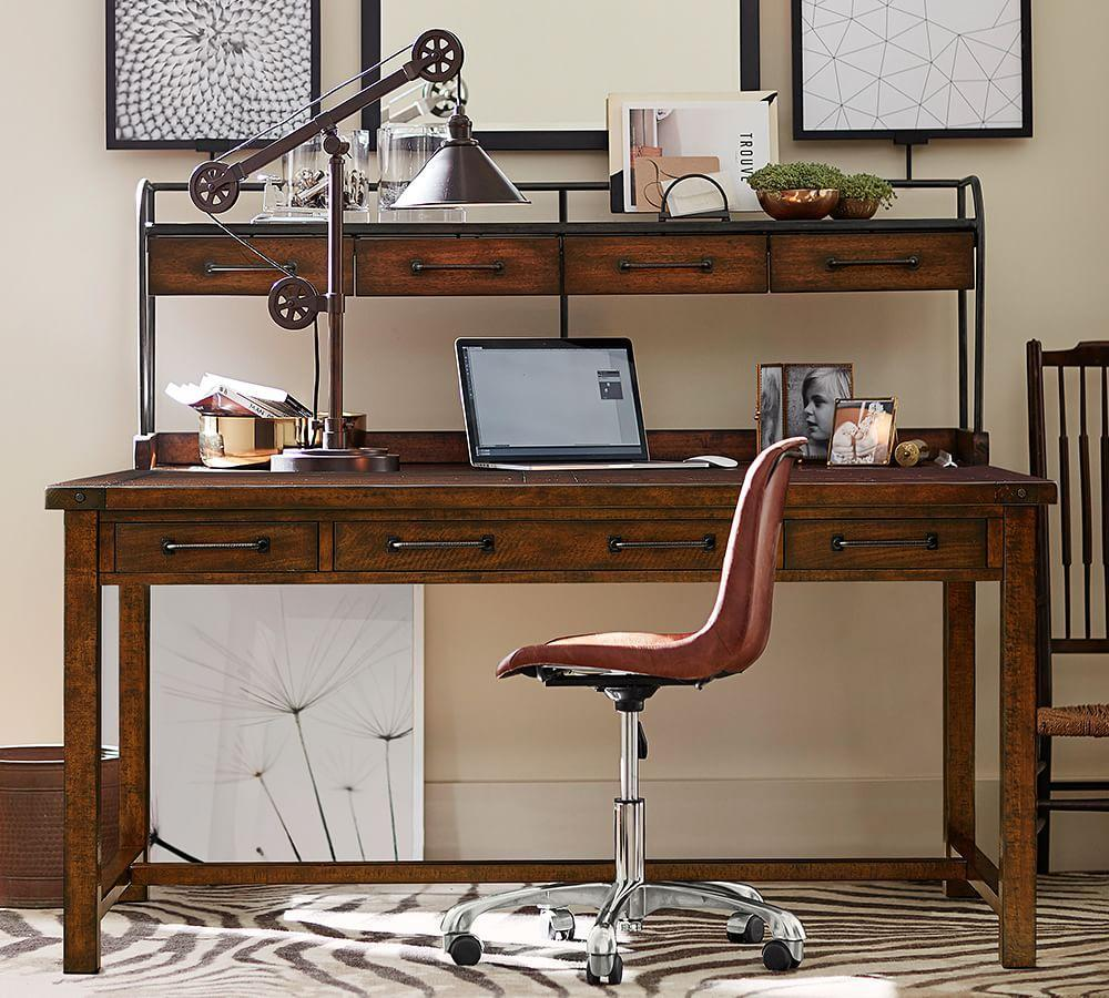 benchwright desk pottery barn ca