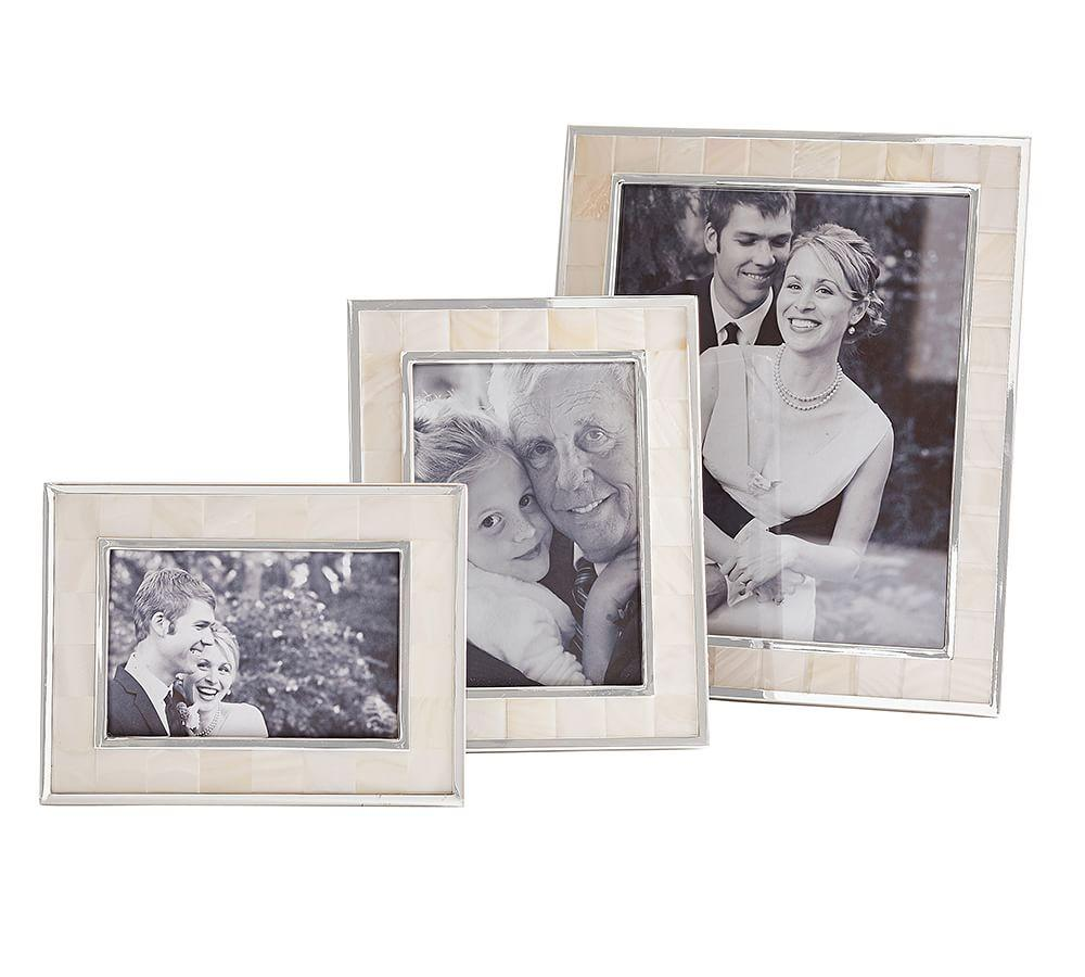 Mother-of-Pearl Frames | Pottery Barn CA