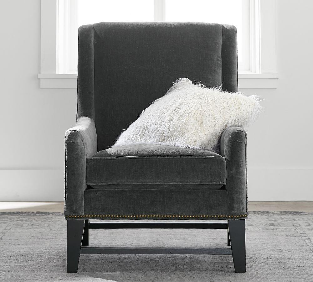 Berkeley Upholstered Armchair | Pottery Barn CA
