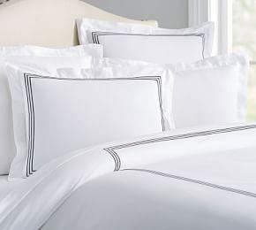 Grand Organic Duvet Cover & Shams