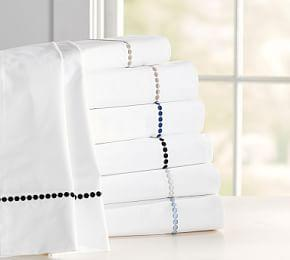 Pearl Organic Percale Sheet Set