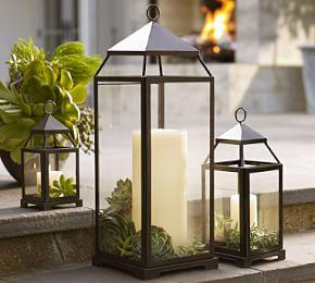 Malta Lantern - Bronze finish