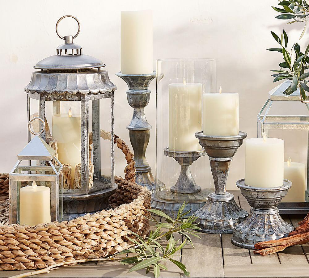 Premium Flicker Flameless Outdoor Candle | Pottery Barn CA
