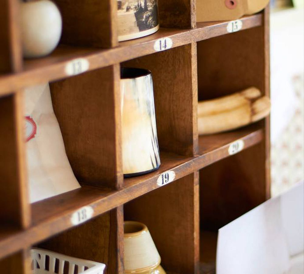 Cubby Organizer Natural Pottery Barn Ca