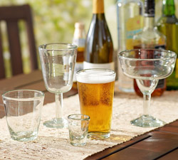 Santino Recycled Glassware, Set of 6