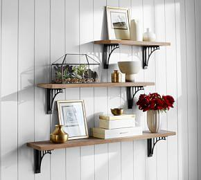 Customizable Brackets & Shelves