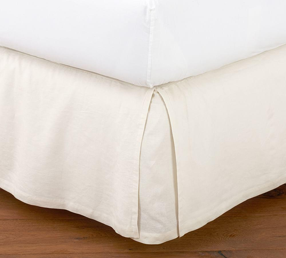 Belgian Flax Linen Bed Skirt