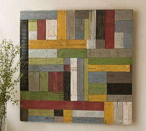Painted Pieced Woodwork -  Bright