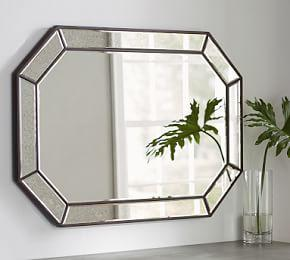 Nora Pieced Antiqued Mirror